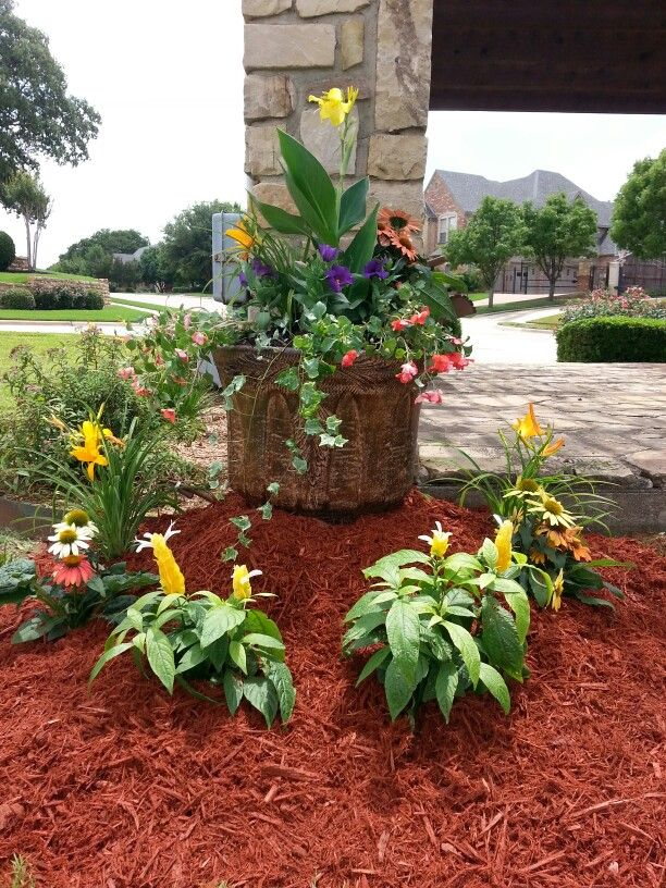 Flower Bed Design For Hoa Colleyville Tx Flower Bed Designs Asian Garden Garden Design