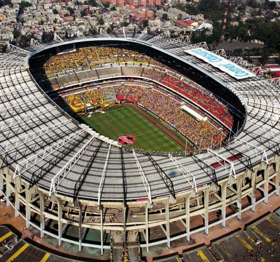 Estadio Azteca. El inmueble, casa del América y de la Selección ...