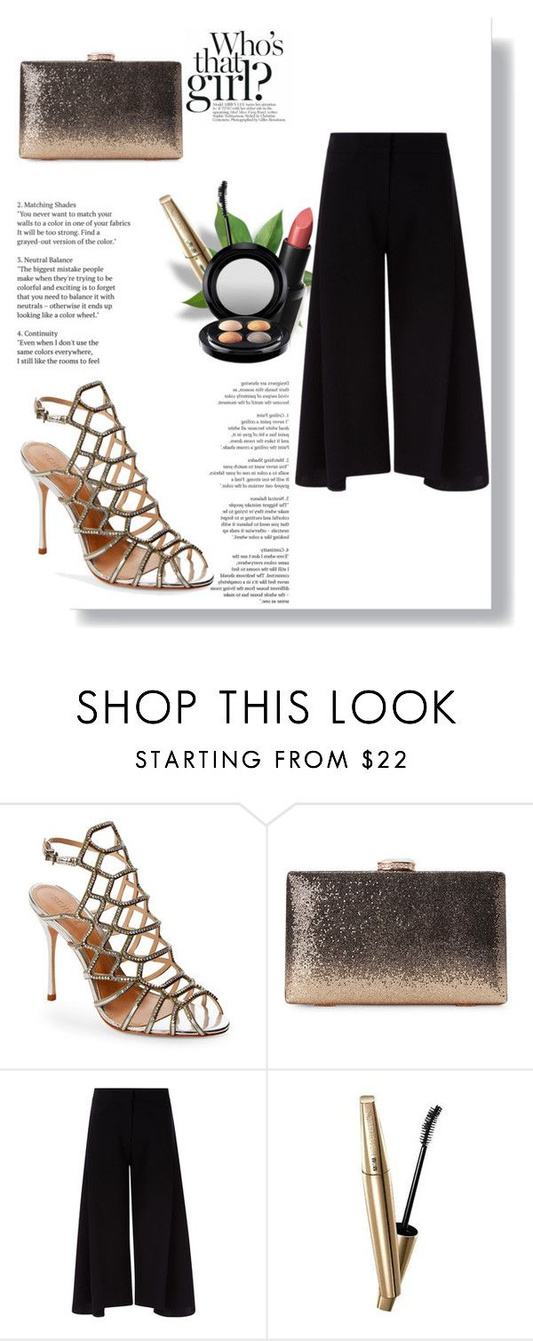"""""""Who`s that girl?"""" by aamila12345678 ❤ liked on Polyvore featuring Schutz, Victoria, Victoria Beckham, VOV, Wet n Wild and MAC Cosmetics"""
