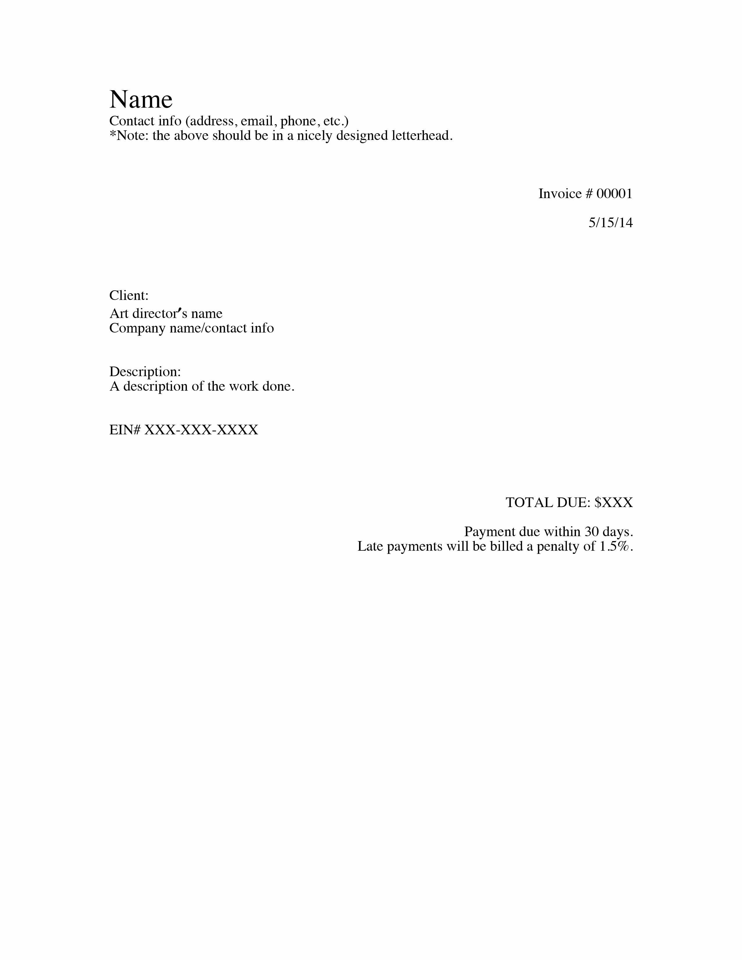 Unique Basic Receipt Template xls xlsformat