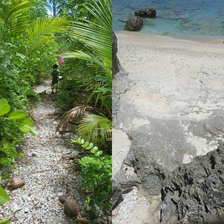 Cook Islands Rarotonga Beach: Hidden Beach On Mauke. Cook Islands