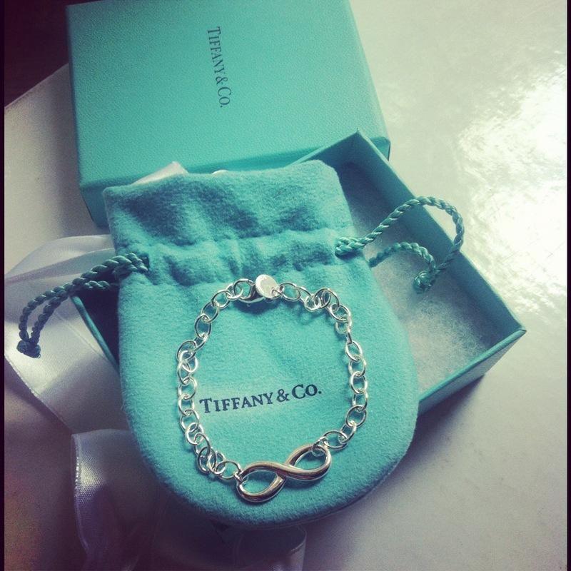 New In: Tiffany&Co.; Infinity bracelet