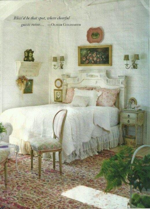 vintage guest room u003c3 great spaces pinterest room cottage rh pinterest com