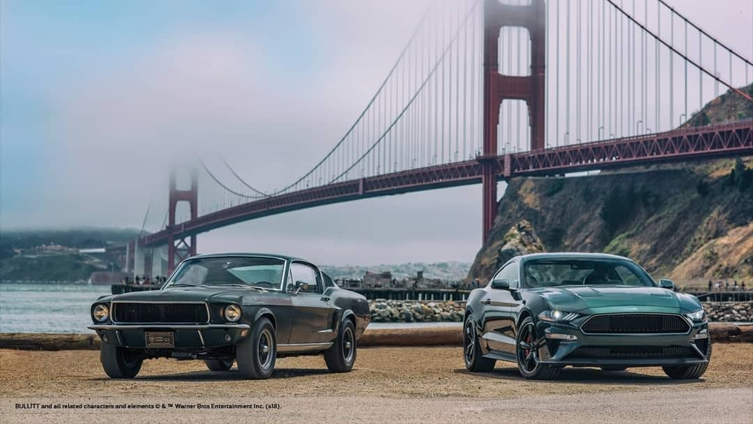 Old Vs New Ford Mustang Bullitts Ford Mustang Bullitt Mustang Bullitt Ford Mustang