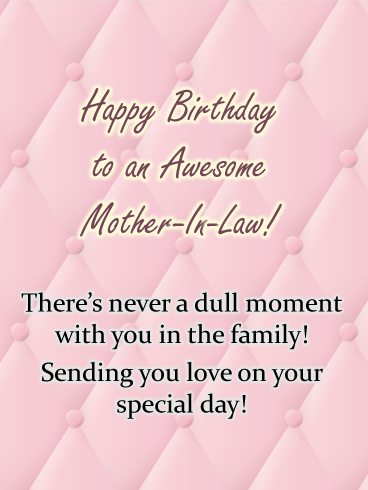 Champagne Sparklers Happy Birthday Card For Mother In Law Birthday Greeting Cards By Davia Birthday Cards For Mother Birthday Message For Mother Message For Mother
