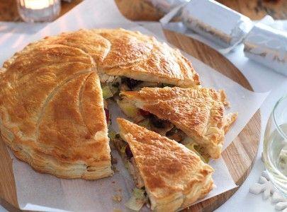 Luxury vegetarian puff pie | Recipe | Recipes, Sainsburys ...