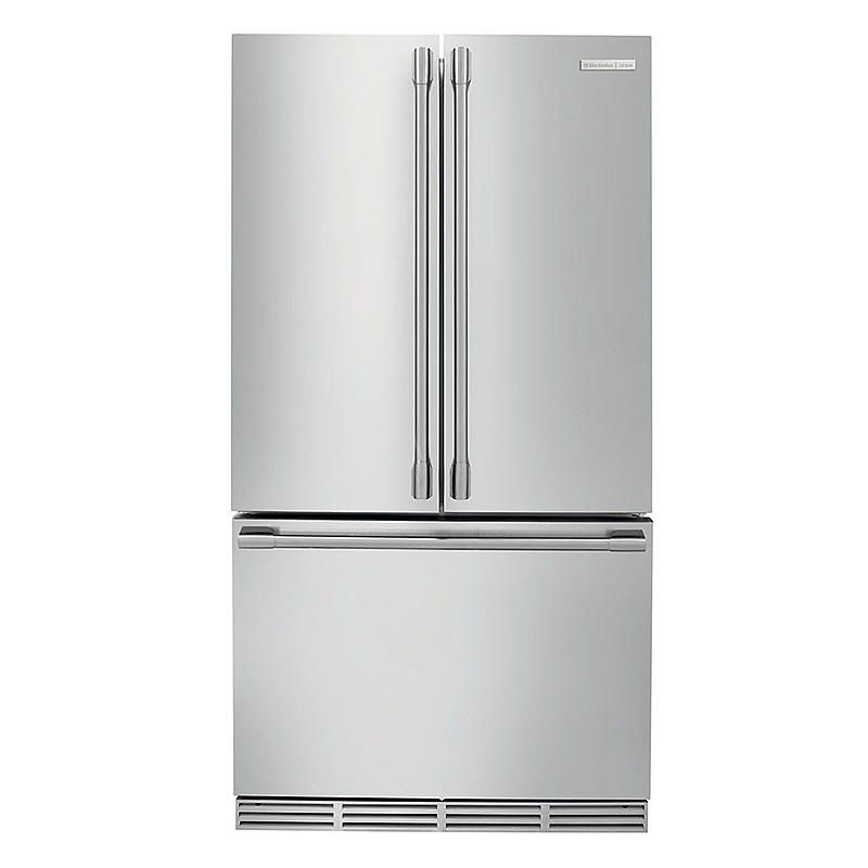 Electrolux Icon 23 Cu Ft Counter Depth French Door Refrigerator Stainless Stee Counter Depth Refrigerator Electrolux Counter Depth French Door Refrigerator