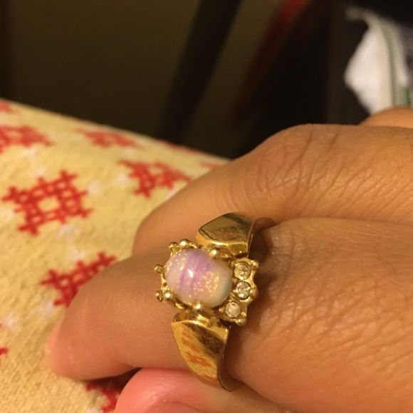 Selling this A opal looking ring  in my Poshmark closet! My username is: alyannit. #shopmycloset #poshmark #fashion #shopping #style #forsale #Jewelry