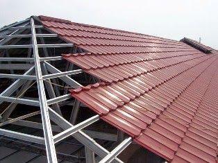 aplikator baja ringan medan rangka genteng metal atap langit
