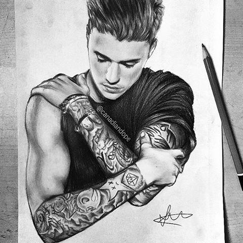 Justin Bieber Art Page On Instagram Amazing Sketch Credits Canadiandope Justinbieberart Justinbieberarts Justinbieberfanart Justin Bieber Art Drawing