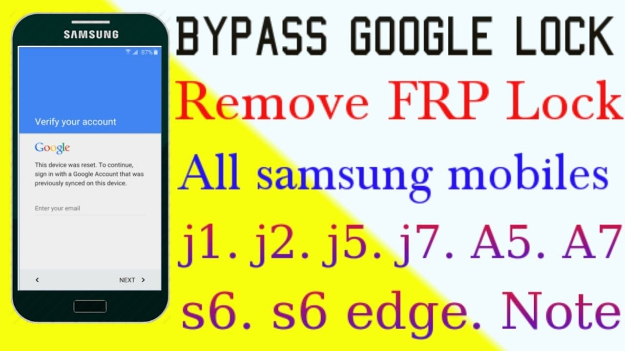 Download how to remove google verification bypass