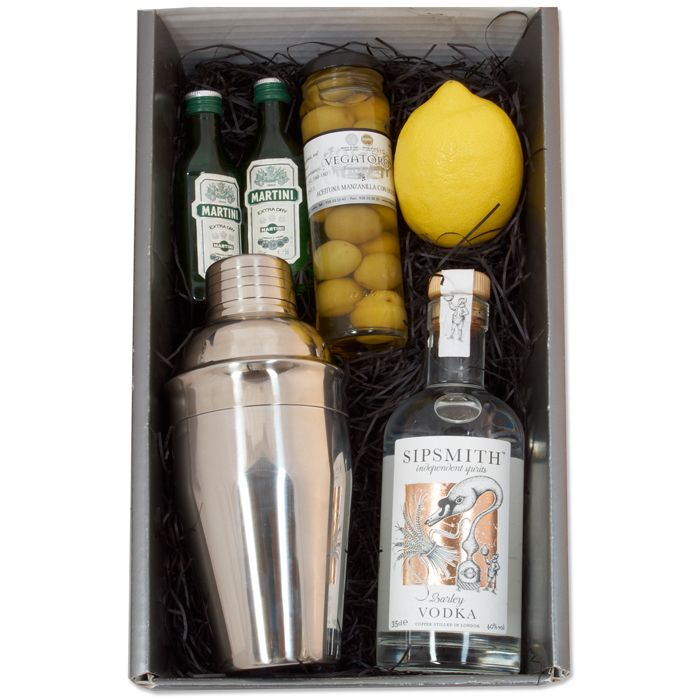 Martini gift set | Party Ideas | Pinterest | Cocktail gift set ...