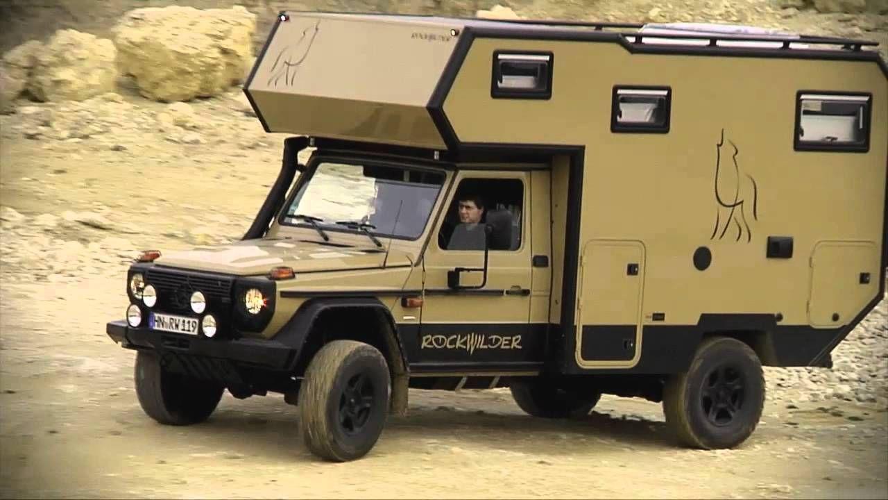 Rockwilder® Expeditionsfahrzeug, Mercedes G, Weltreisemobil, Fels