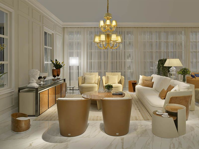 Furniture and exlusive design by Luxury living