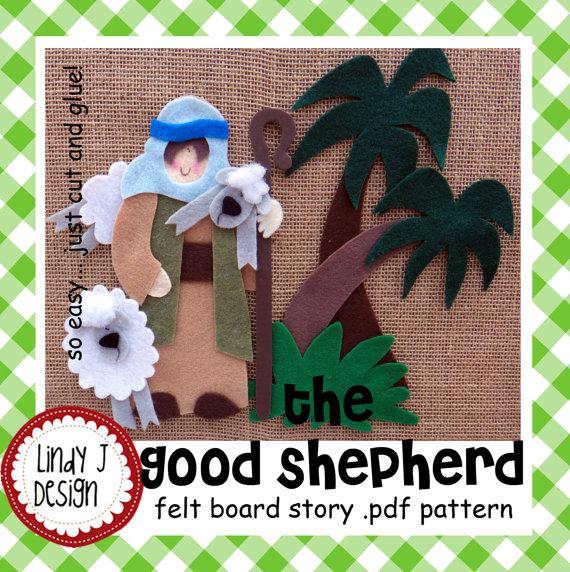 The Good Shepherd BIBLE Story Flannel/FELT Board by
