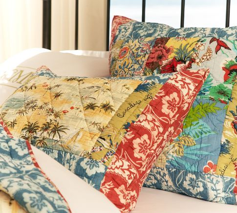 Island Patchwork Quilt Amp Sham New Bedding Quilted