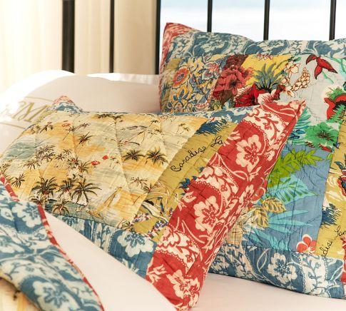 Island Patchwork Quilt Amp Sham New Bedding In 2019