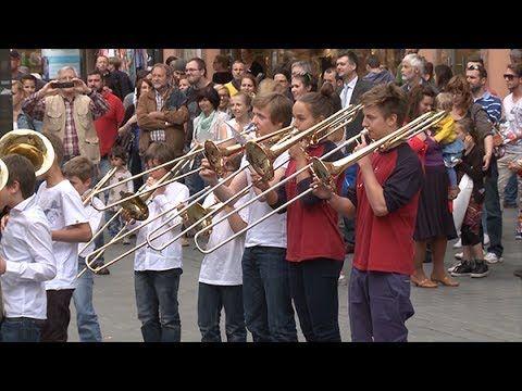 "Flashmob ""Ode an die Freude"" (+Playlist)"