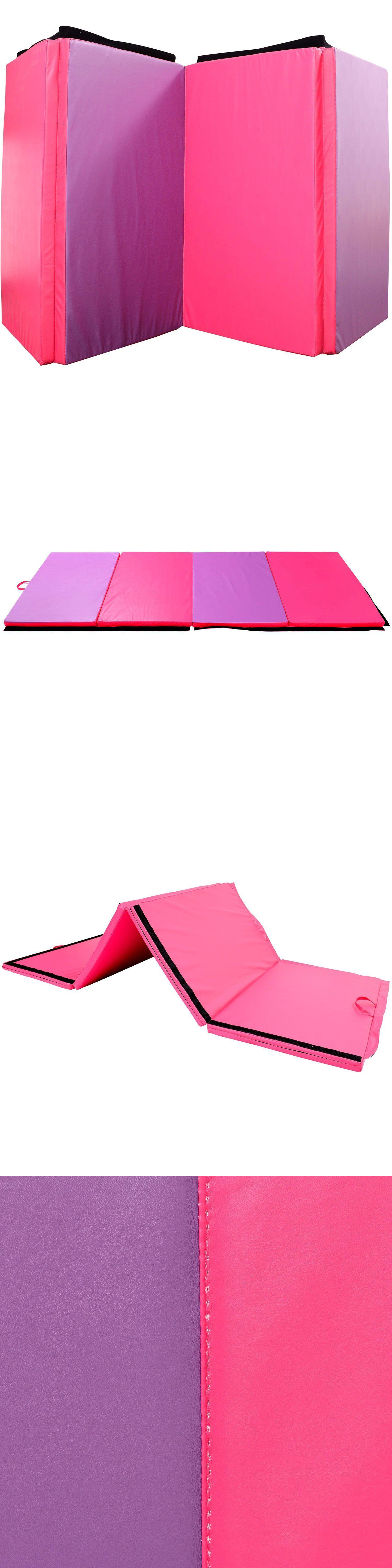 pu mats gymnastics panel cheap itm folding workout exercise mat fitness sportmad thick