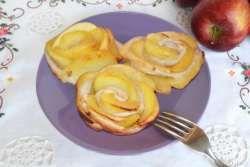 » Rose di mele e pasta sfoglia