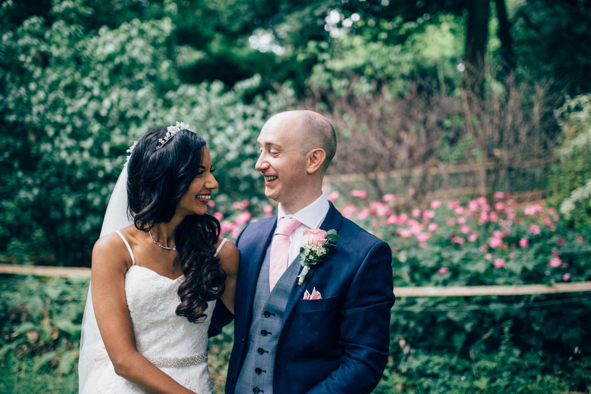 Fun and laid back wedding at Pembroke