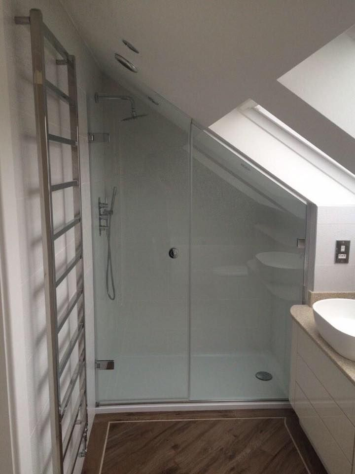 A Southport en suite bathroom in a loft