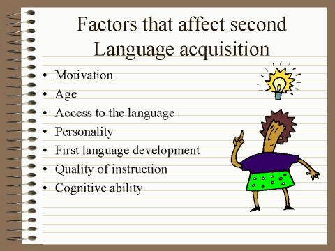 SecondLanguage Acquisition    Second Language Acquisition