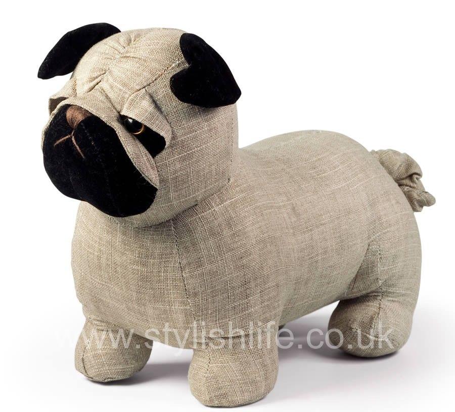 Bogart Pug Dog Doorstop! I So WANT This For The Nursery Room!