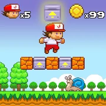 Super Jim Jump pixel 3d Apk, 3.2.3977 download free in