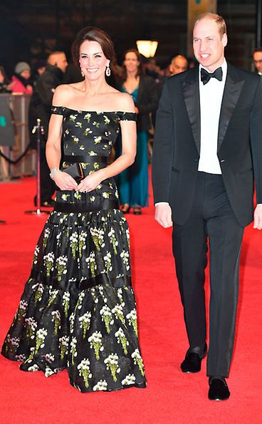 Duchess Kate steals the show at 2017 BAFTAs | Evening ...