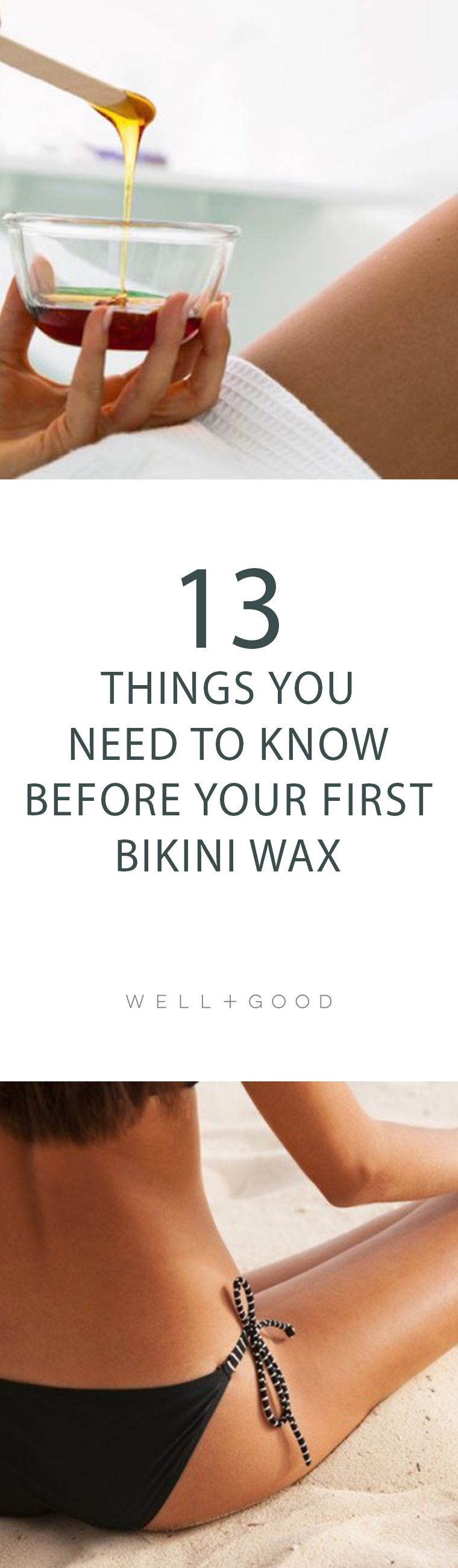 how to prep for a bikini wax | natural beauty picks and tips