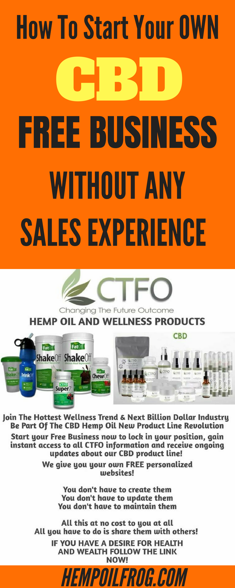 how to start your own cbd business without any sales experience rh pinterest com
