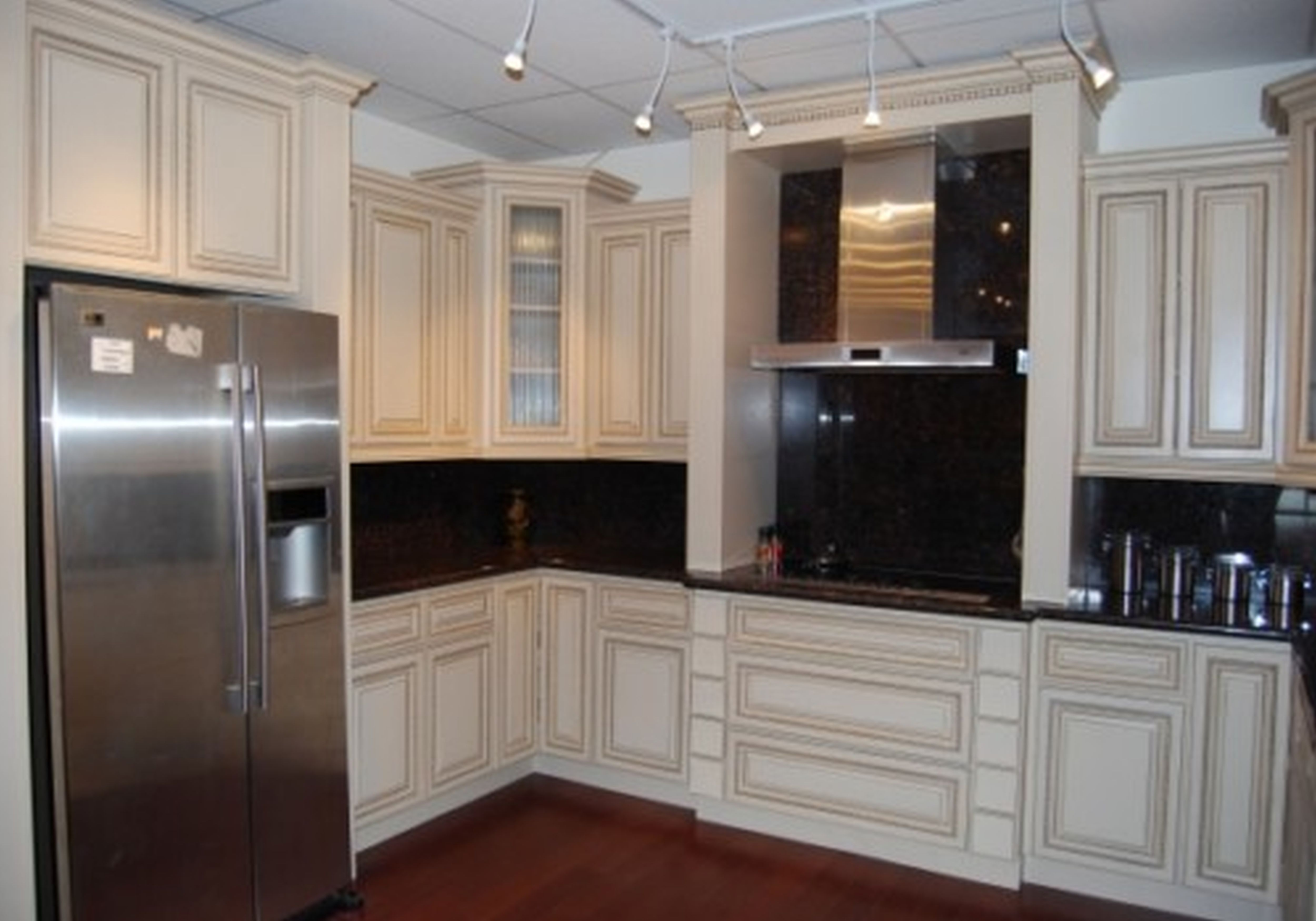 painted white kitchen cabinets Google Search