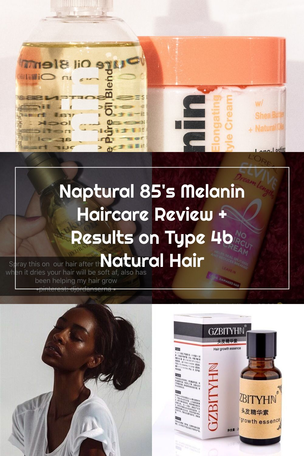 Nongreasy and very moisturizing Natural Hair Products