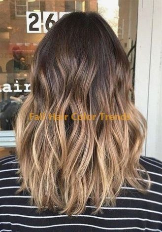 Best Ombre Fall Hair Colors #fallhaircolors