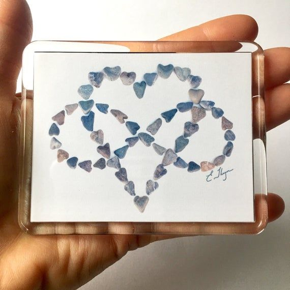 Infinity love magnet, love never ends, amore infinito, wedding gift, bereavement gift, gift of love,
