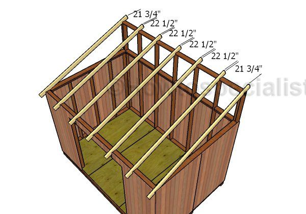 Best 8×12 Lean To Shed Roof Plans Lean To Shed Shed Shed Roof 400 x 300