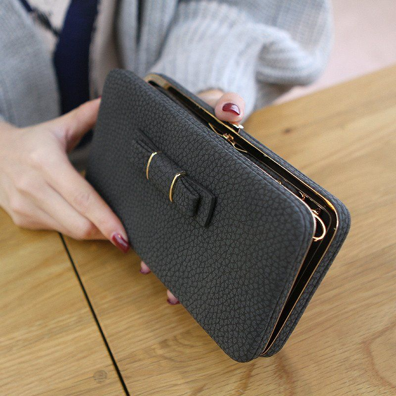 Lady Beibei Clutch Purse With Cell Phone Holder