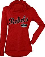 We Love This Rebels Long Sleeve Clothes For Women T Shirts For Women Apparel Unlv bookstore, las vegas, nevada. pinterest