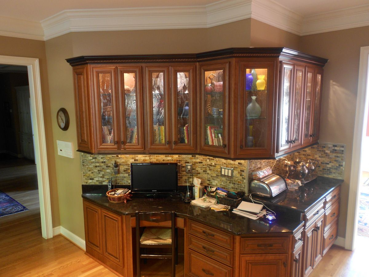 Looks like new cabinets just like the other side of the ...