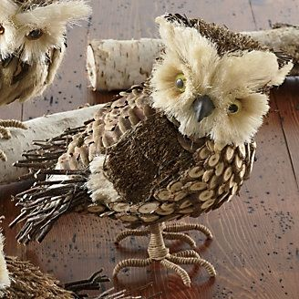 10-inch Owl with Stick Tail from Through the Country Door®