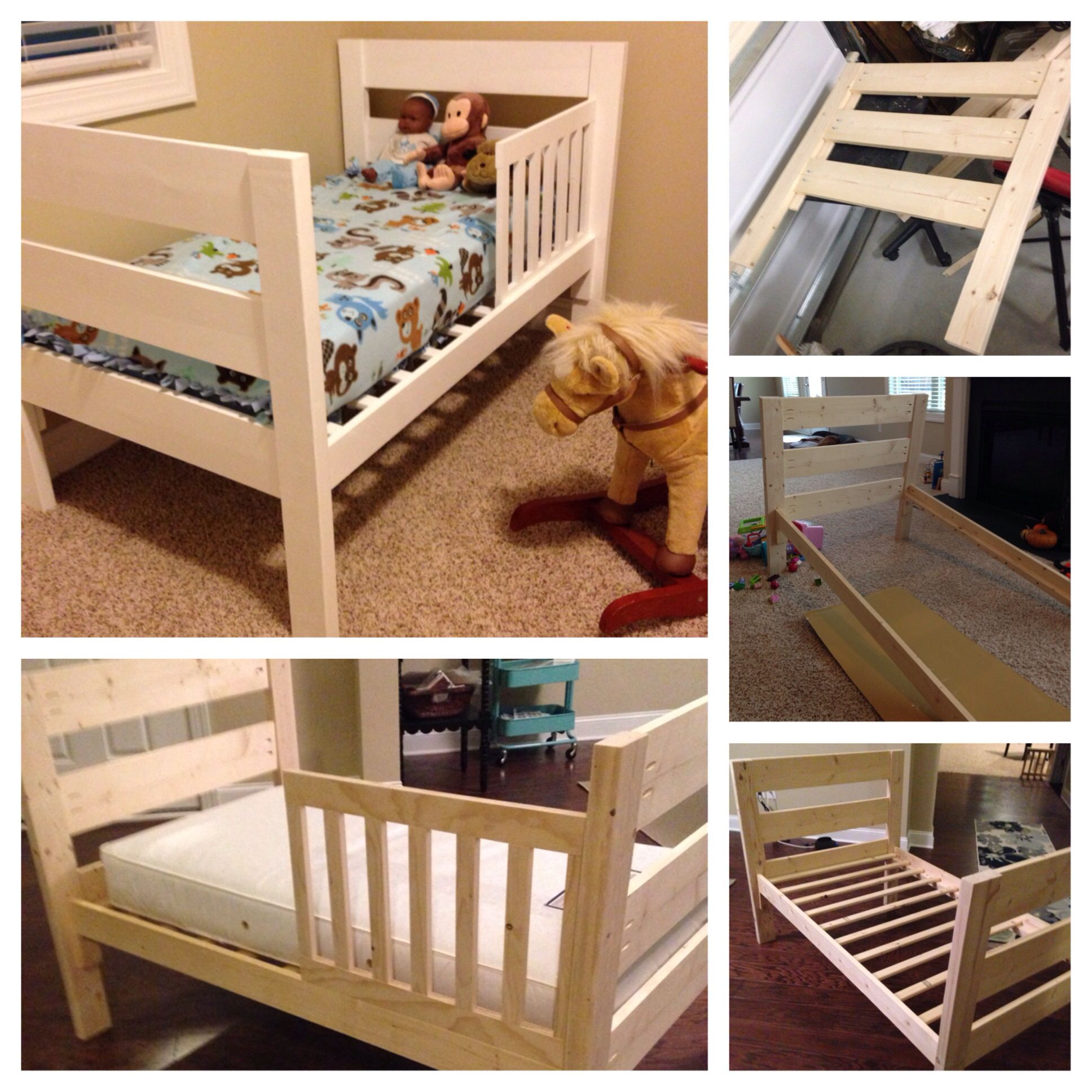 Toddler Bed Diy My Completed Projects Diy Toddler Bed
