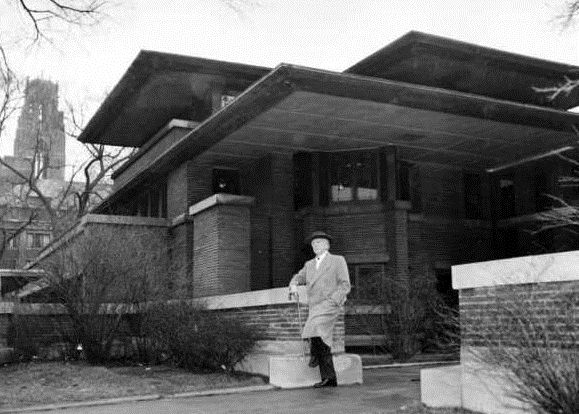 flw at robie house frank lloyd wright frank lloyd wright rh pinterest com
