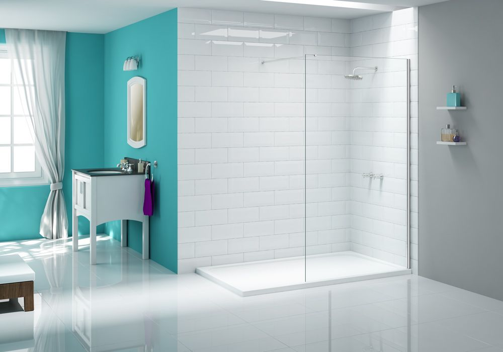 The Ionic Shower Wall is stylish yet functional by design – the ...