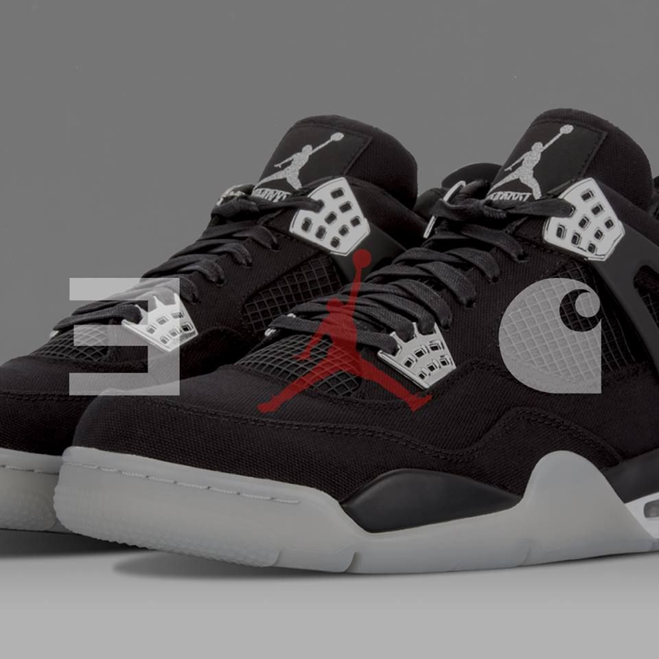3c153bea377 EMINEM x CARHARTT x AIR JORDAN 4 - Sneaker Freaker | Fresh to deafff ...