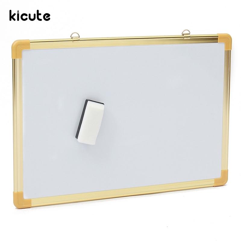 Buy Here  Kicute Double Side Writing Whiteboard Dry Erase