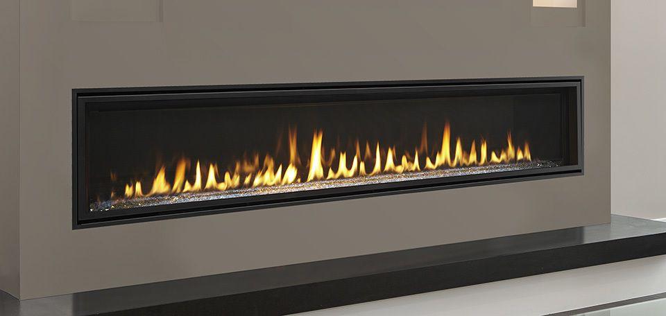 majestic echelon ii 72 gas fireplace heater linear fireplace rh pinterest com