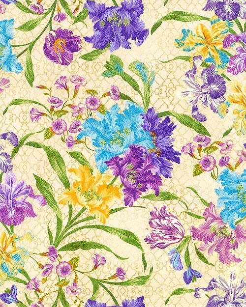 Garden Rendezvous - Spring Bouquet - Buttercreme