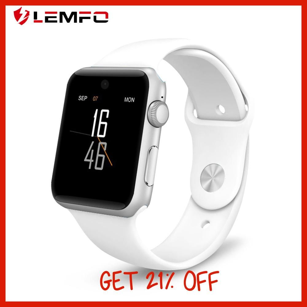 LEMFO Bluetooth Smart Watch LF07 SmartWatch for Apple IPhone IOS Android  Smartphones Looks Like Apple Watch 83a36f48c4b9