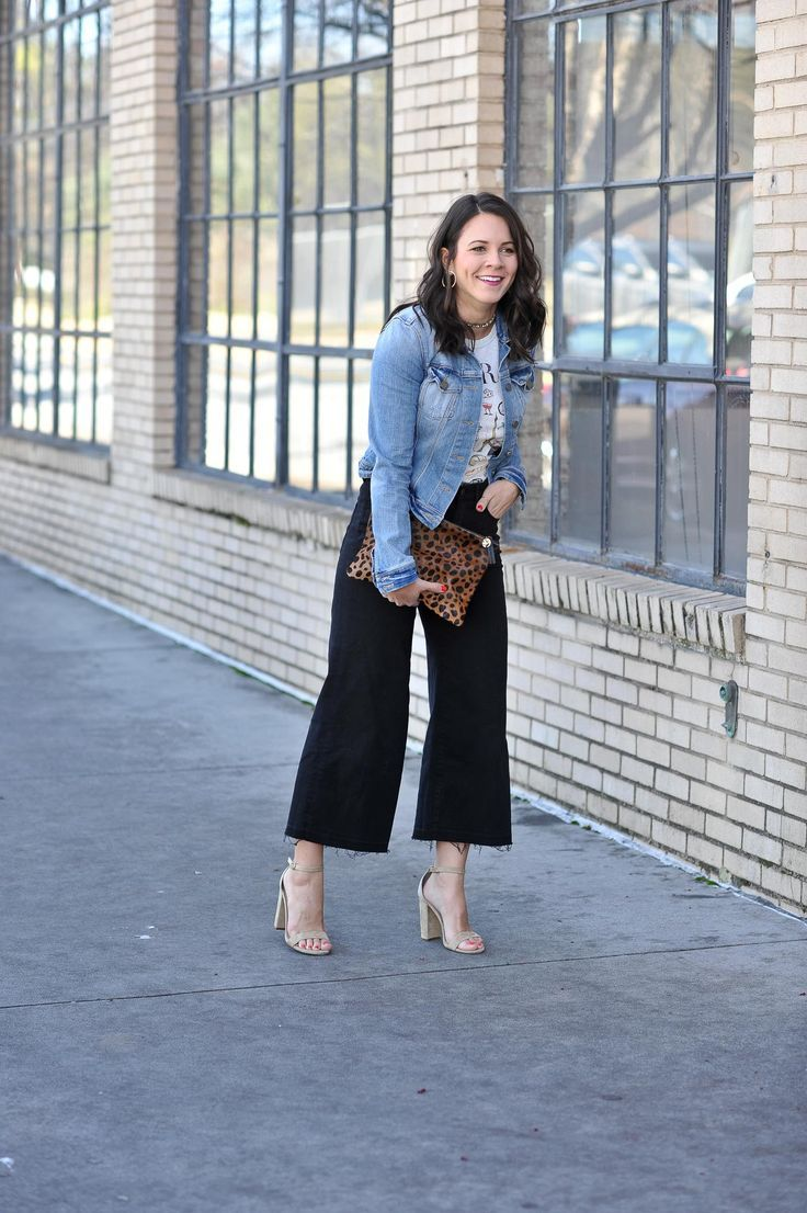Styling Wide Leg Cropped Pants